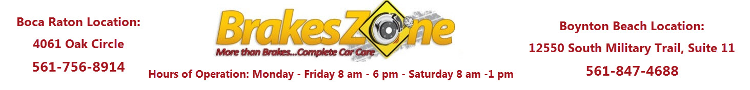 Brakeszone Boca Raton Logo